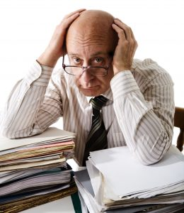 Frustrated thinking about Social Media for Accountants